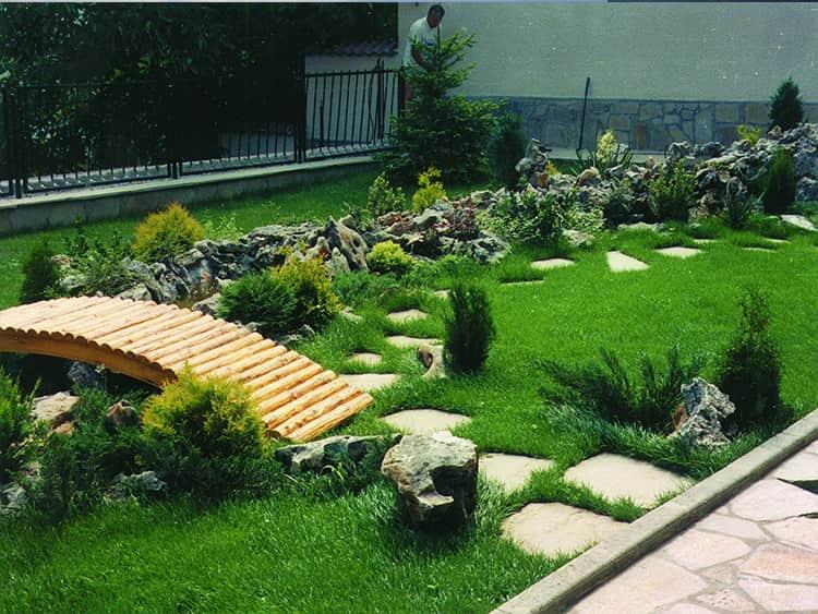 озеленяване на частни дворове