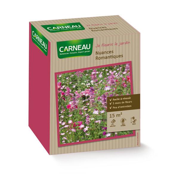 тревна смеска с ароматни цветя